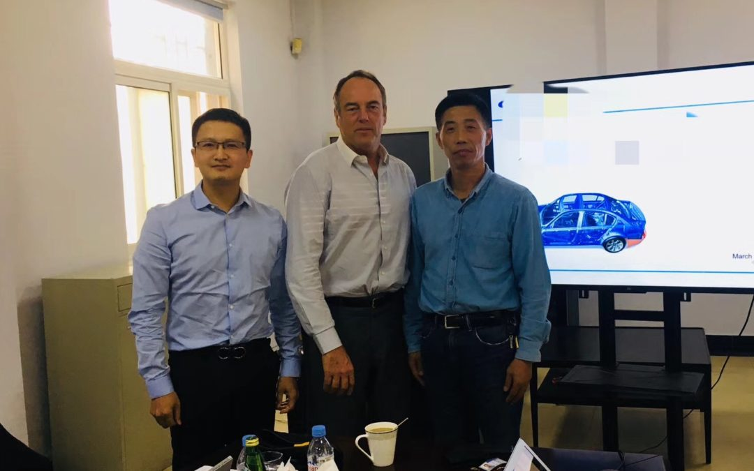 Visit of potential suppliers closed to Shanghai. JF KER RAULT Group Purchasing Director.